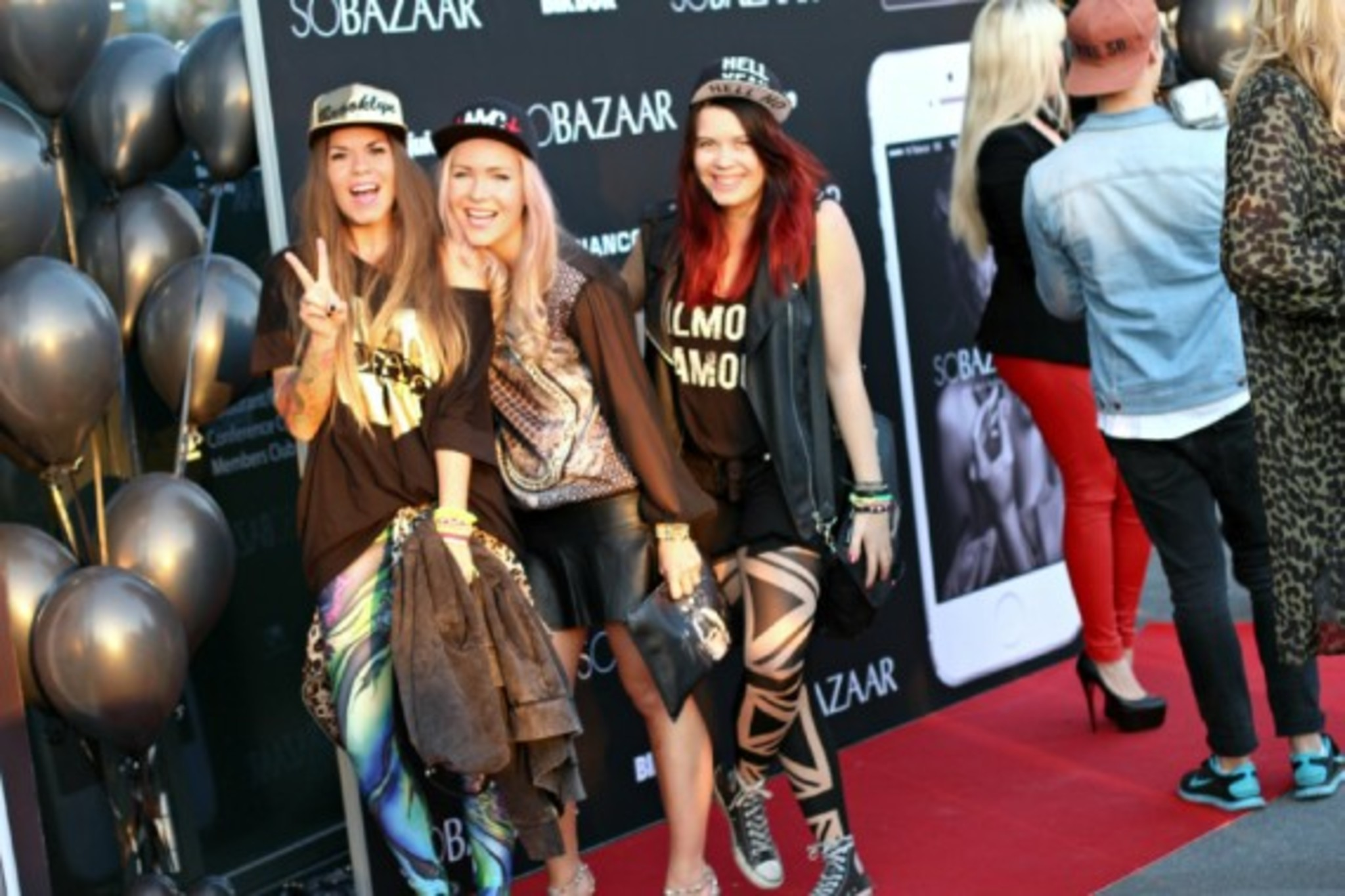 Le Bloggers at VIP SOBAZAAR event for LADY GAGA concert.