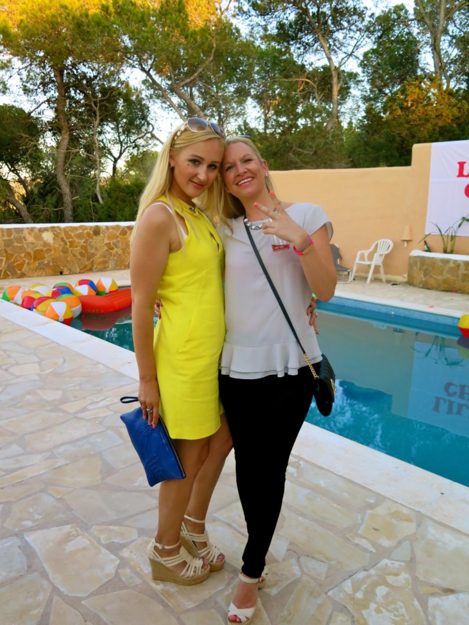 Olga and Vicky