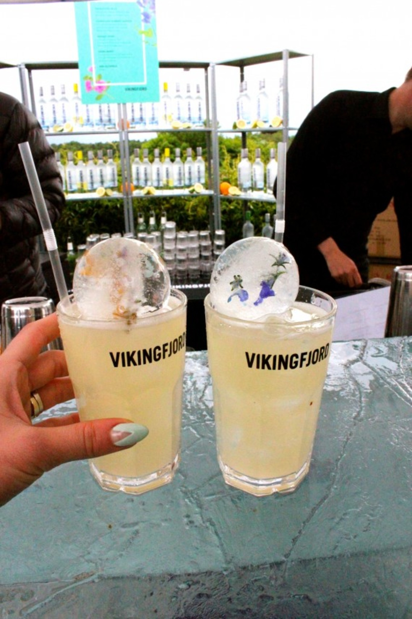 Vikingfjord Garden Cocktail