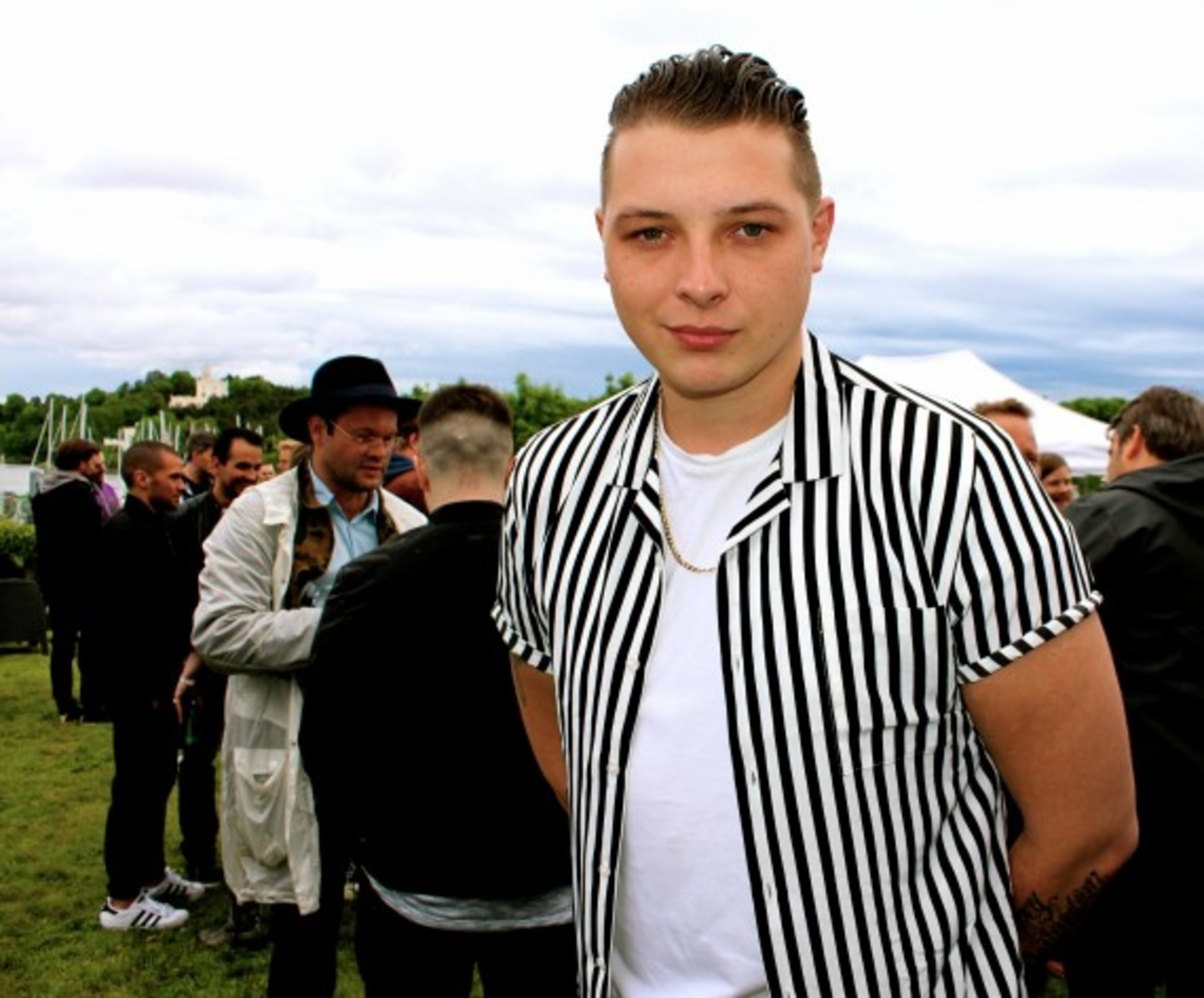 John Newman in the building ....