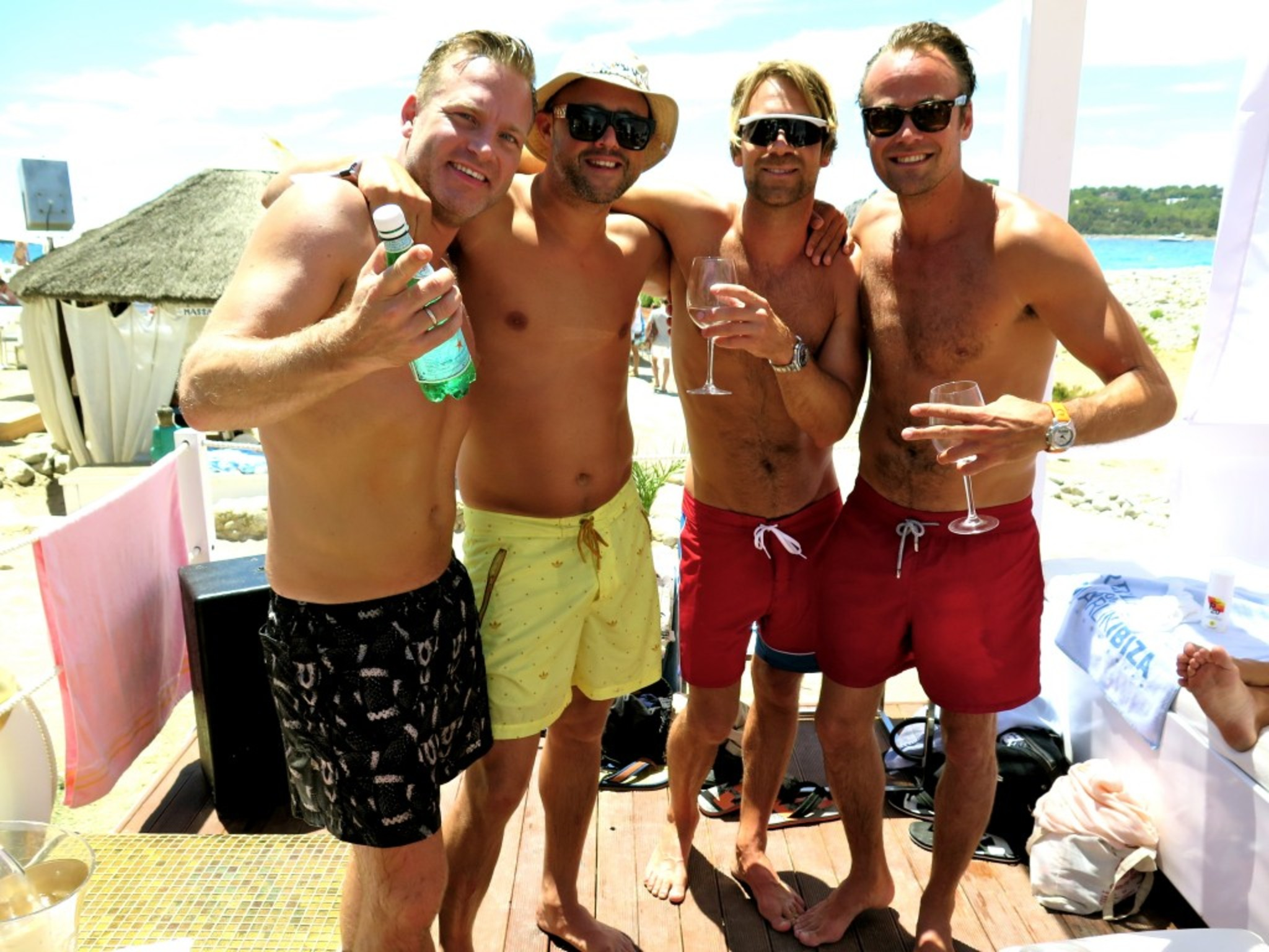 Dem Boyzzz - my Bday mr. Chris Stallion with Patski Love, DC mister Arvid and Nikolai!