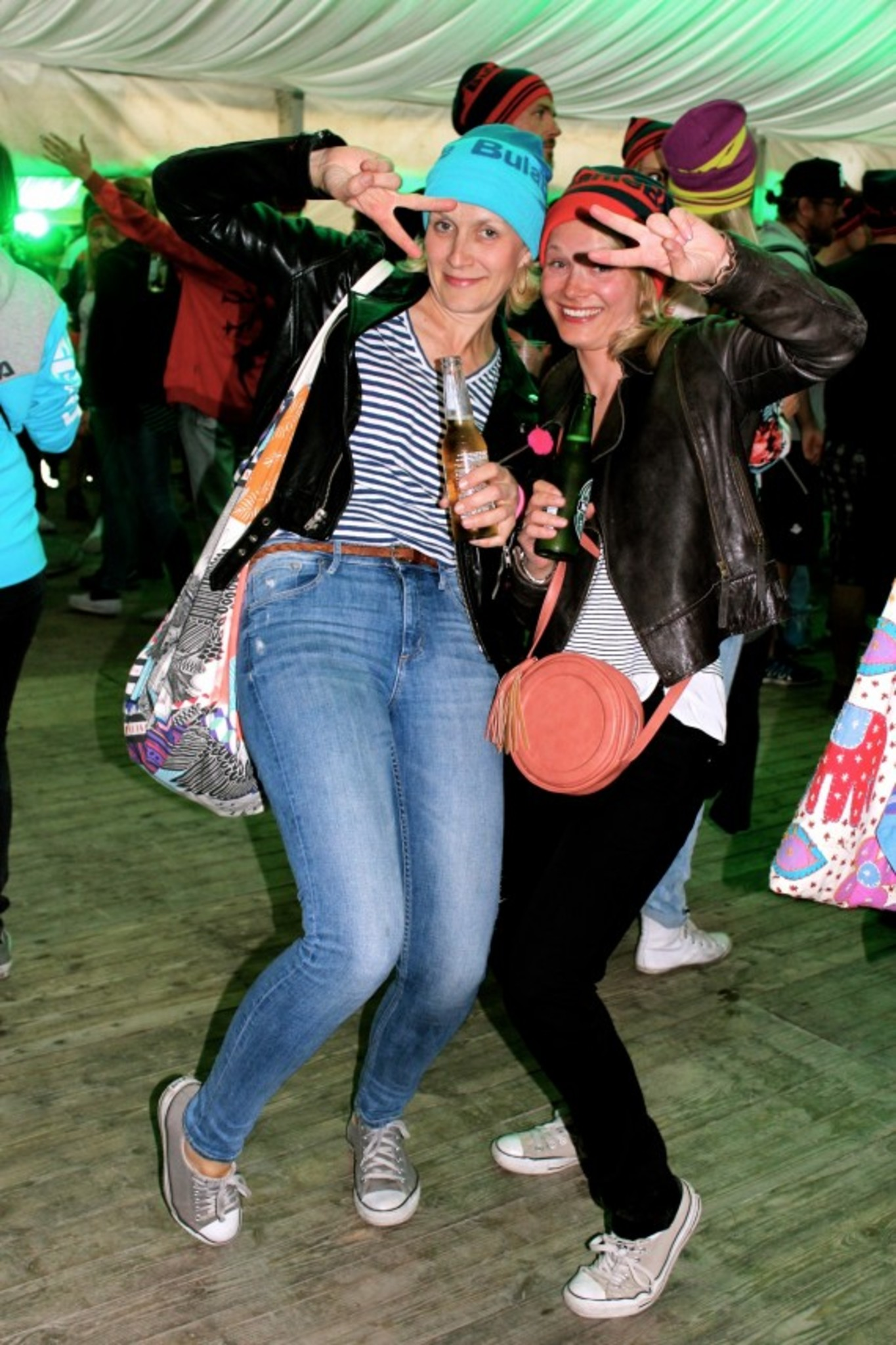 when in Voss... Ingvild & Kristina!