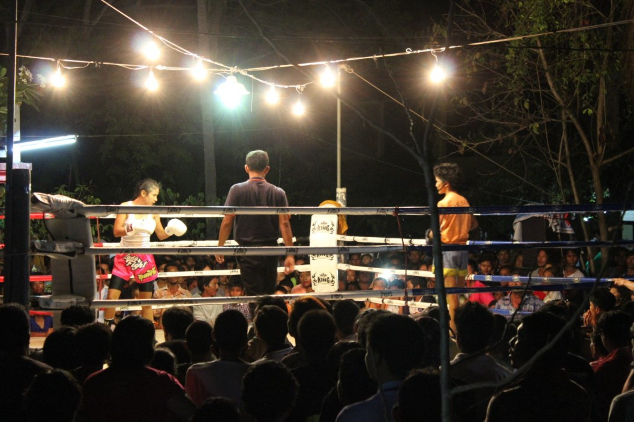 Thai - kick boxing match!