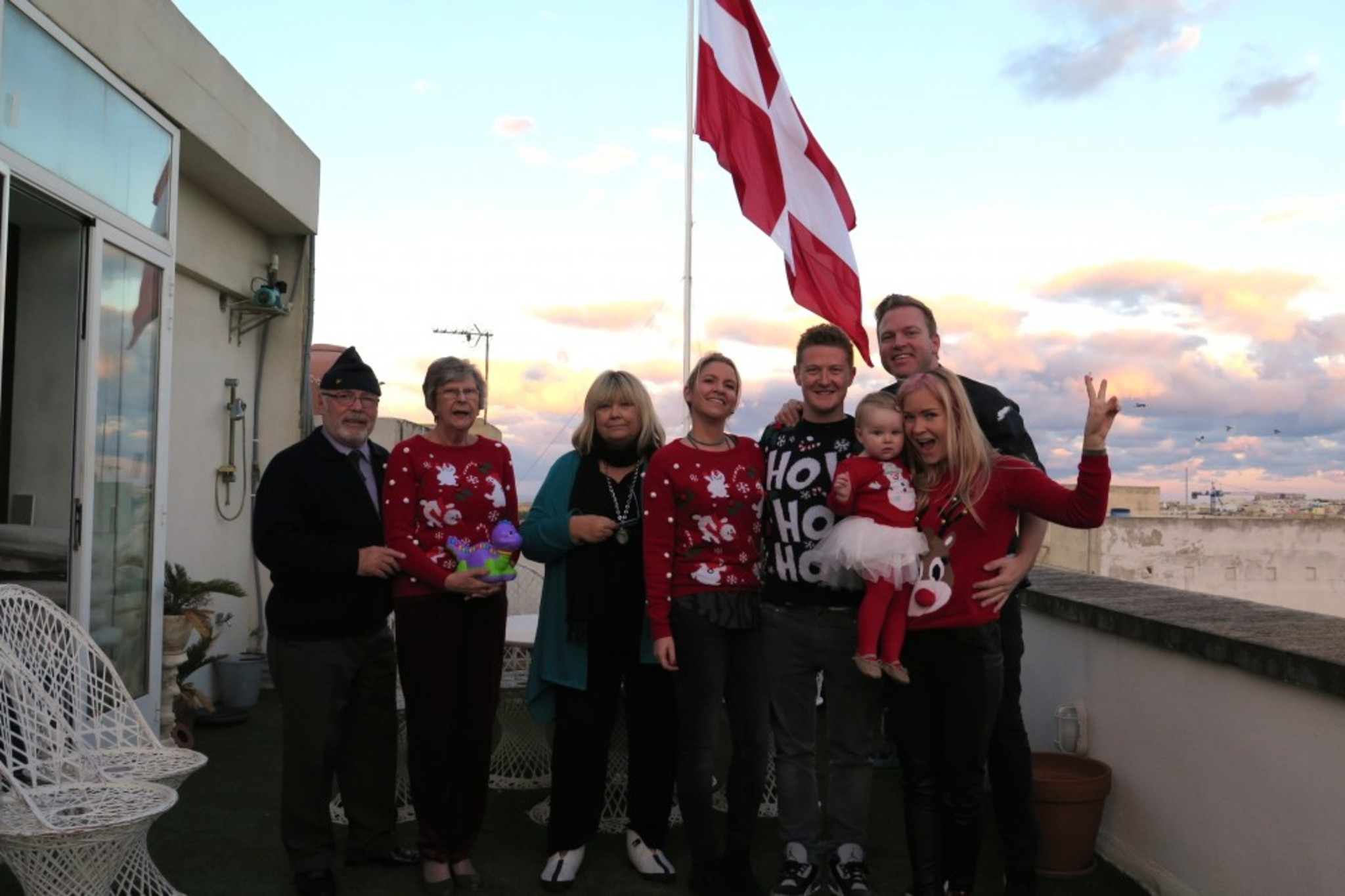 And All together with Malteese Flag in the background!!!!