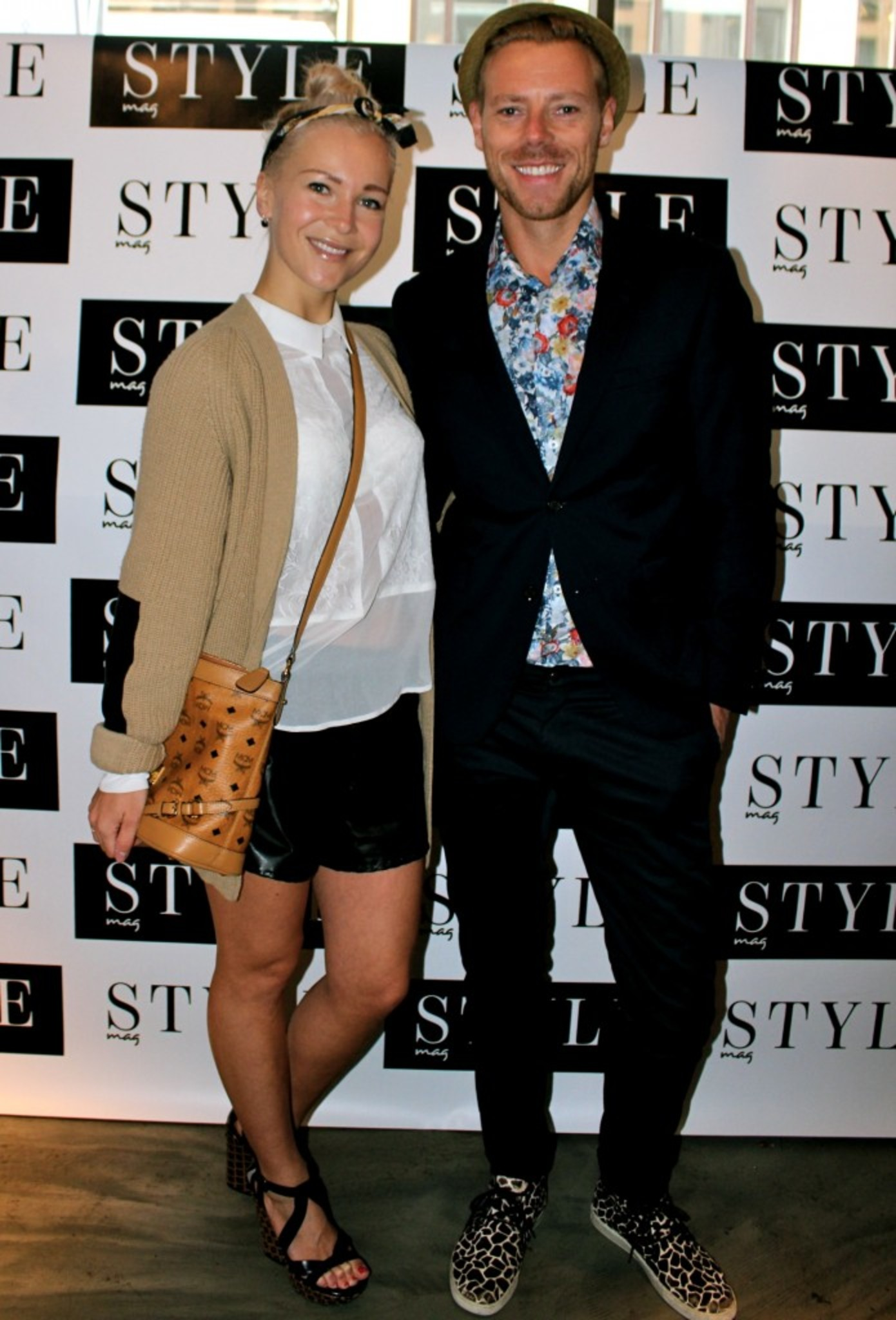 Stylish peeps at STYLEMAG event :) Here with Espen Hilton <3
