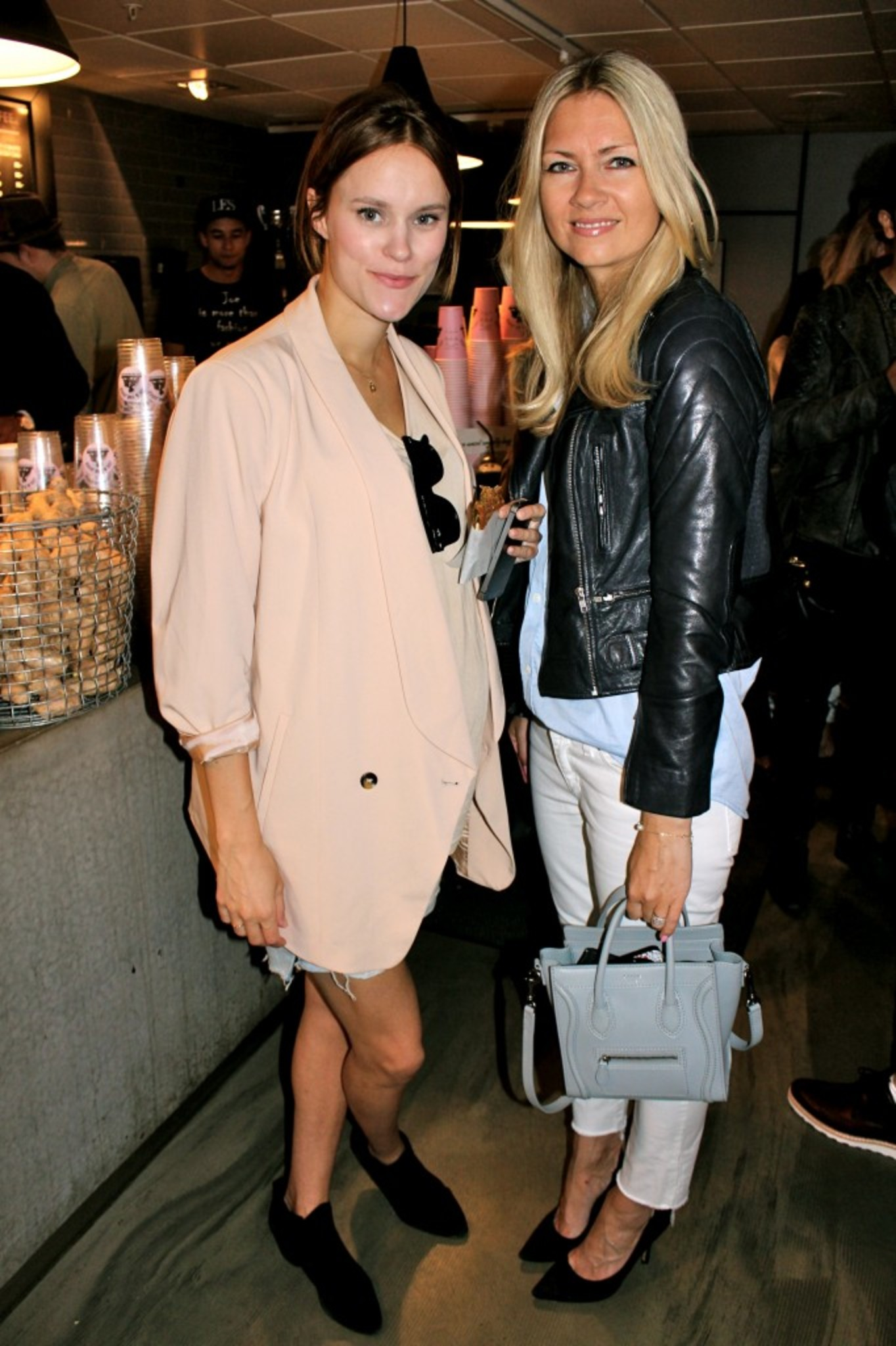 Beautiful Sara Strand & Fashionista Silje <3