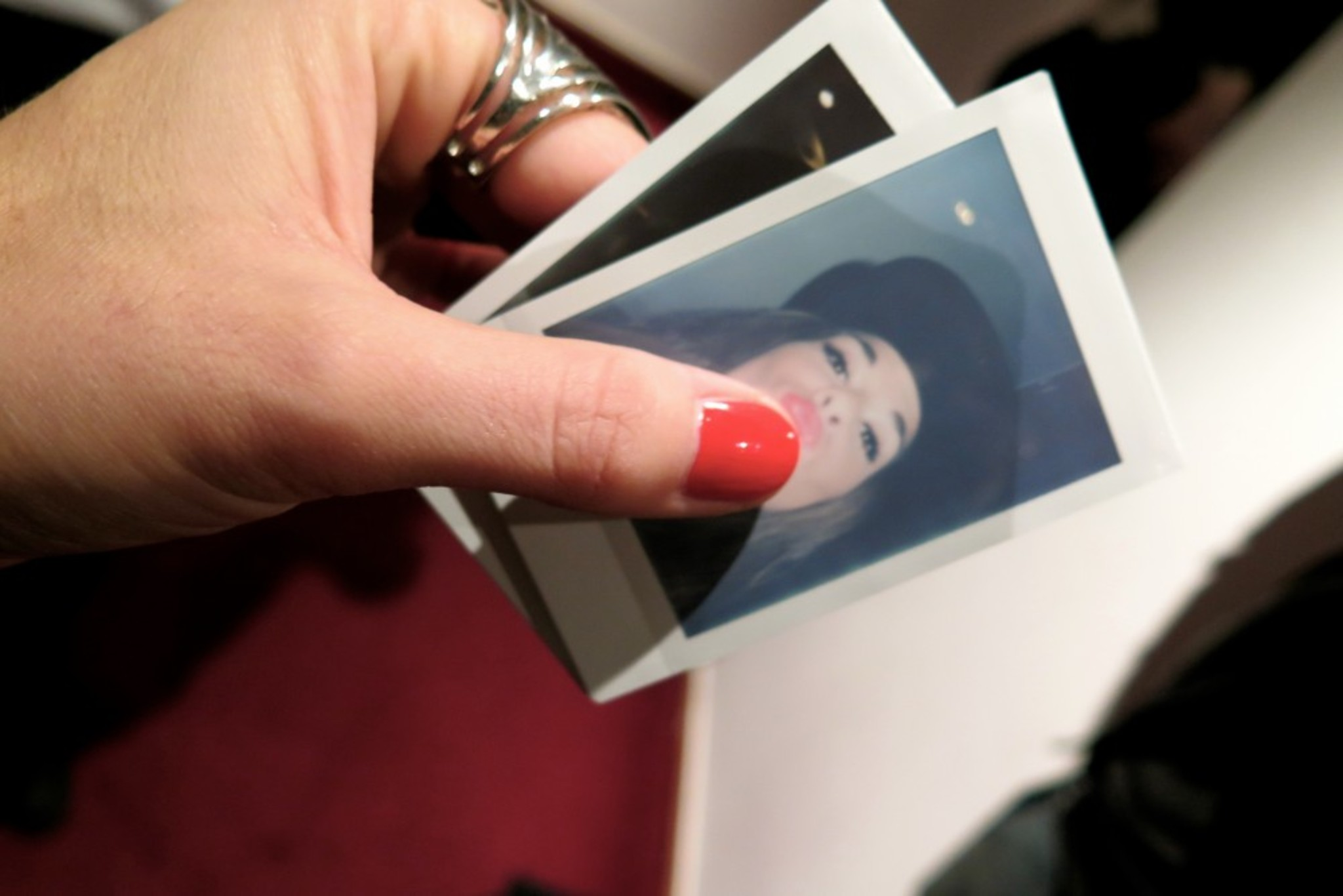 Polaroid Selfie by Kristin <3