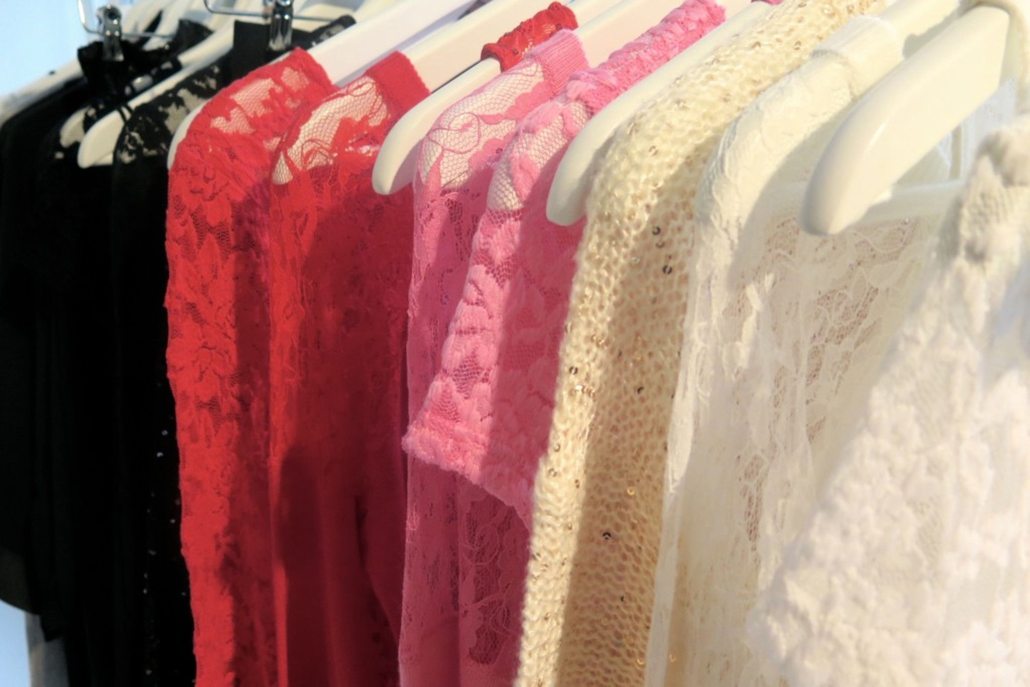 Pink, Red, Whites, Cream and Black - these are the colors you need to Rock this season!