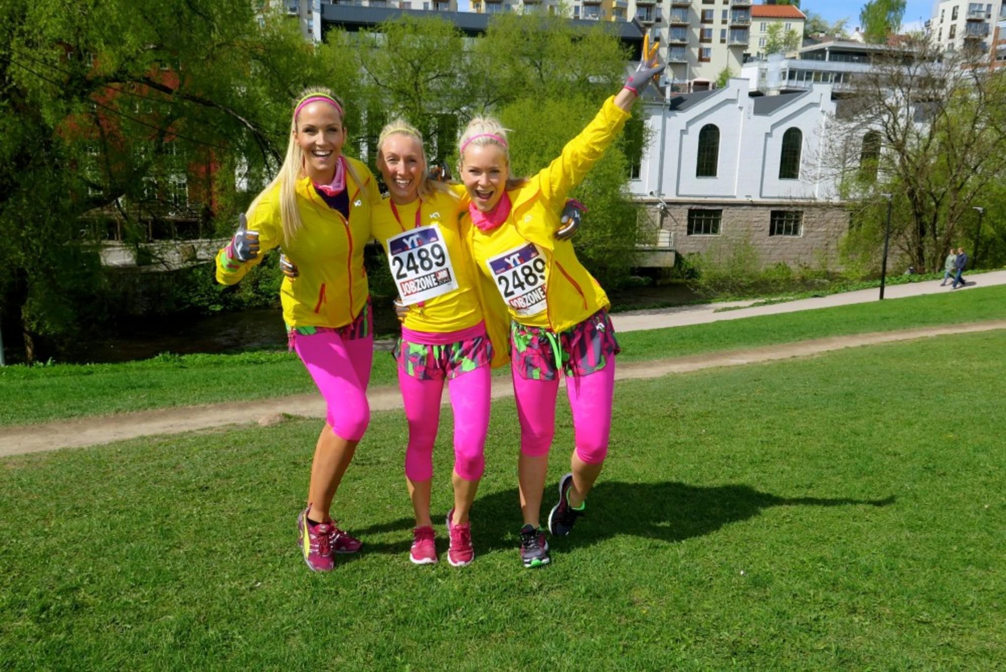 Go Girls! So inspiring! Treningsfrue & Helene Ree!