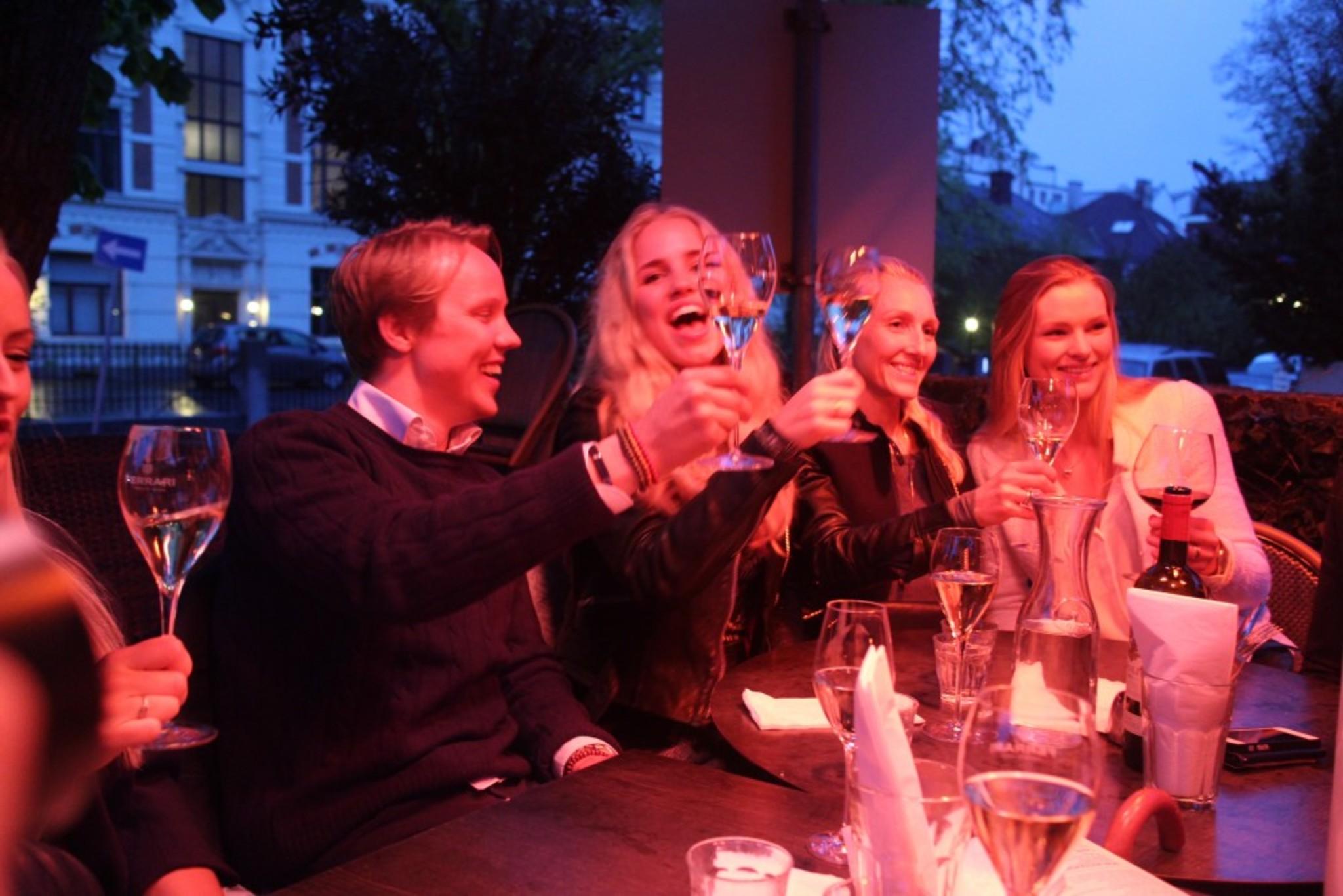 Dinner Time at Olivia Hegdehaugsveien Restaurant after our