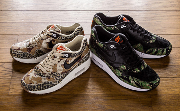 atmos-x-Nike-Air-Max-1-Camo-Animal-Pack